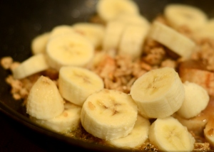 Chef Biju's Snow Day Banana Cobbler