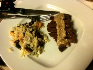 The Feed Zone Cookbook Test Kitchen: Flatiron Steak