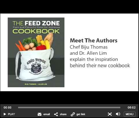 Feed Zone Cookbook VeloNews video series