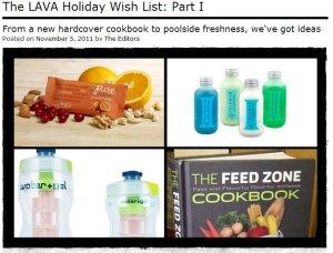 LAVA magazine holiday wishlist