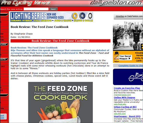 daily peloton review feed zone cookbook