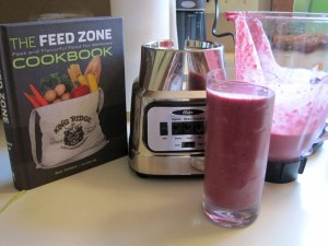 feed zone cookbook rice smoothie