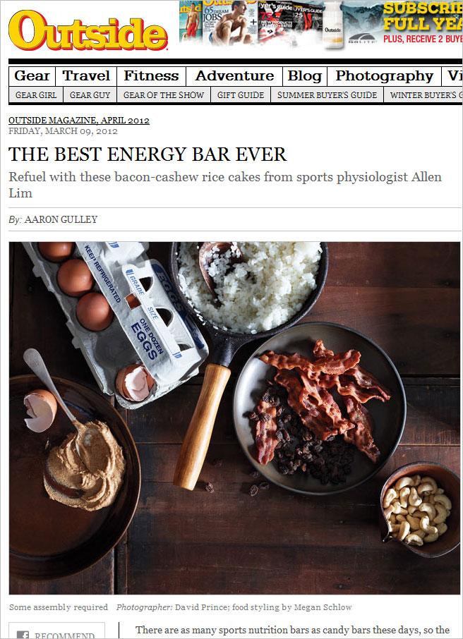 feed zone cookbook outside magazine best energy bars ever