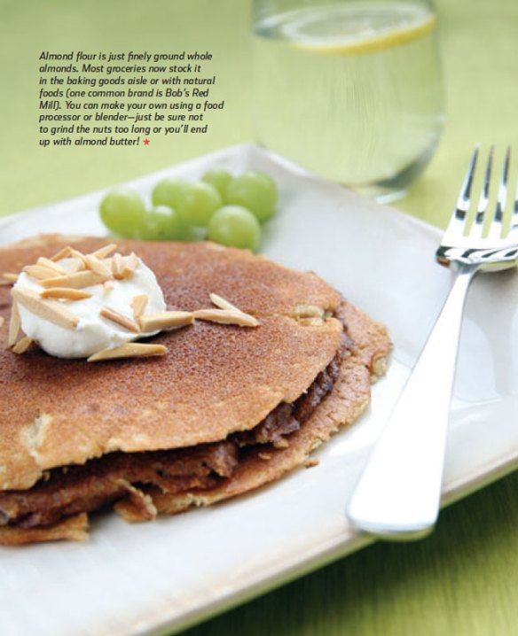 The Feed Zone Cookbook Cinnamon Almond Pancakes