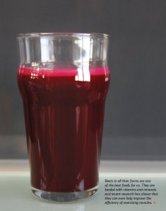 Feed Zone Cookbook beet juice
