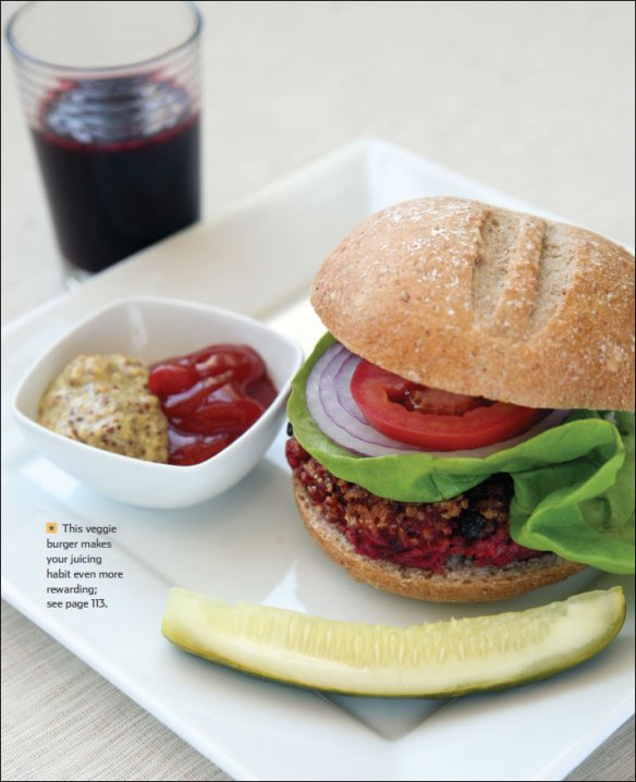 Feed Zone Cookbook veggie burger
