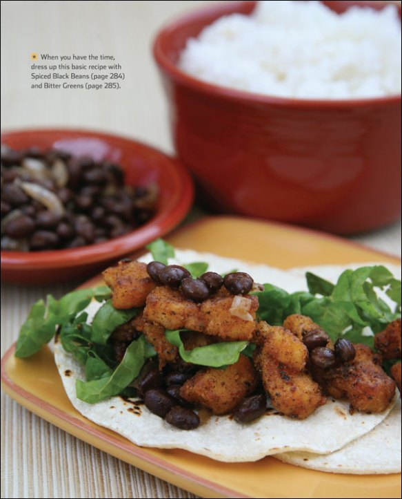 Feed Zone Cookbook Fish Tacos sample recipe