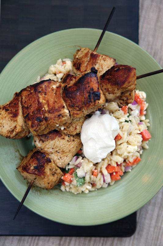 Feed zone cookbook grilled chicken with summer orzo the feed zone feed zone cookbook grilled chicken with summer orzo forumfinder Choice Image