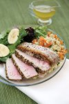 Feed Zone Cookbook seared ahi