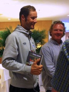 Tom Boonen and The Feed Zone Cookbook