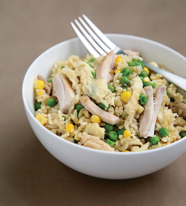 The Feed Zone Cookbook Allen Lim Chicken Fried Rice recovery meal