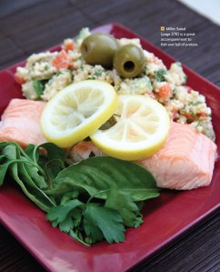 The Feed Zone Cookbook Lemon Herb Salmon