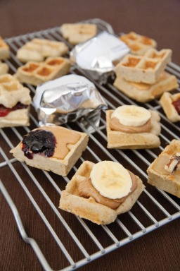 Feed Zone Portables Banana Waffles