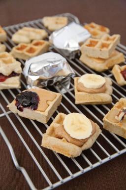 Feed Zone Portables Banana Waffles