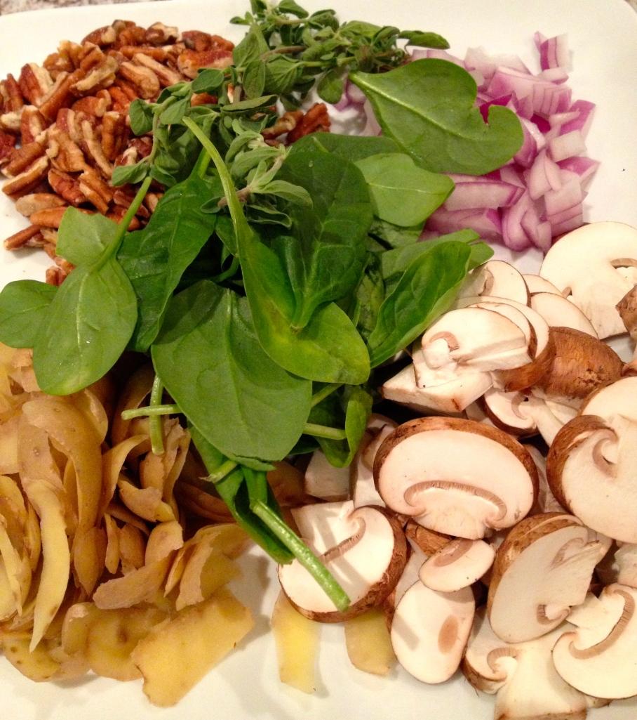 Chef Biju Thomas Mushroom Pecan Pate Spread Stuffing
