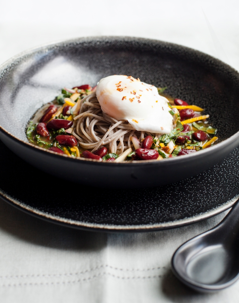 Chilled Soba Noodles from Feed Zone Table by Biju Thomas and Allen Lim