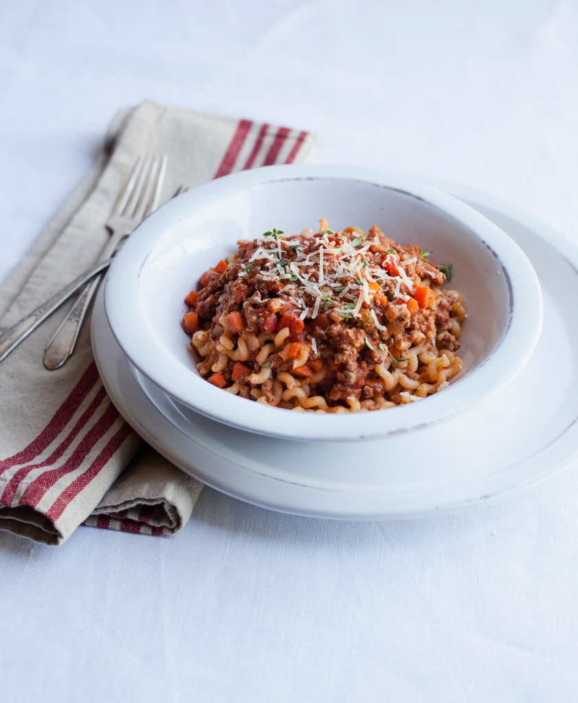 Mac & Cheese Bolognese from Feed Zone Table by Biju Thomas and Allen Lim